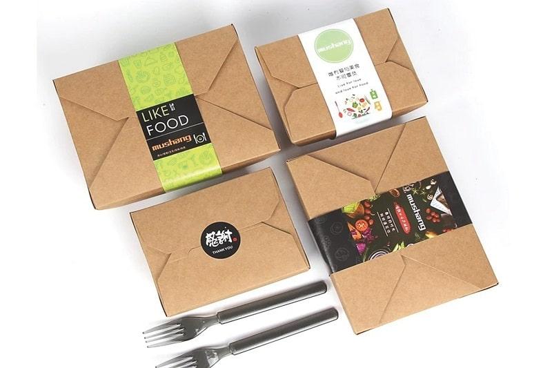 22+ mẫu hộp giấy đựng thức ăn cho nhà hàng quán ăn