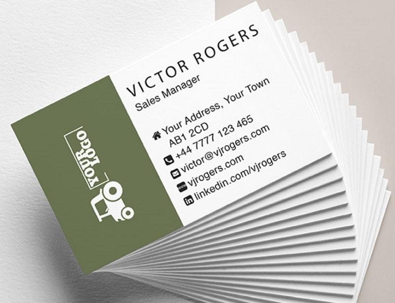 Mẫu card visit đẹp của nhân viên kinh doanh các ngành nghề