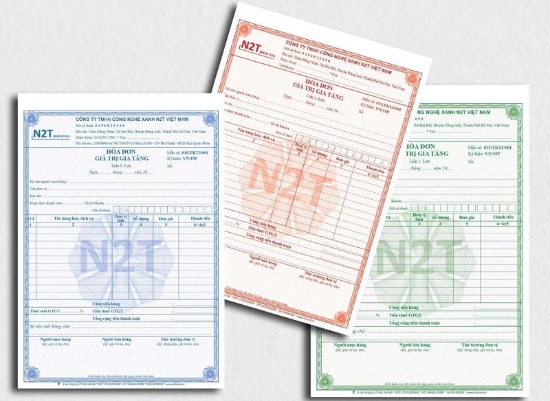 Giới thiệu mẫu in hóa đơn bán lẻ 3 liên cty công nghệ