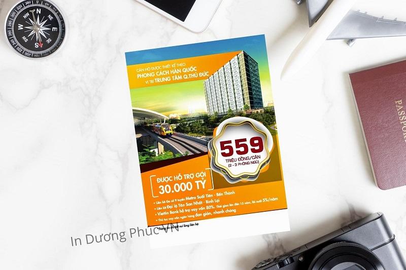 mẫu tờ rơi bán nhà đẹp cho chung cư