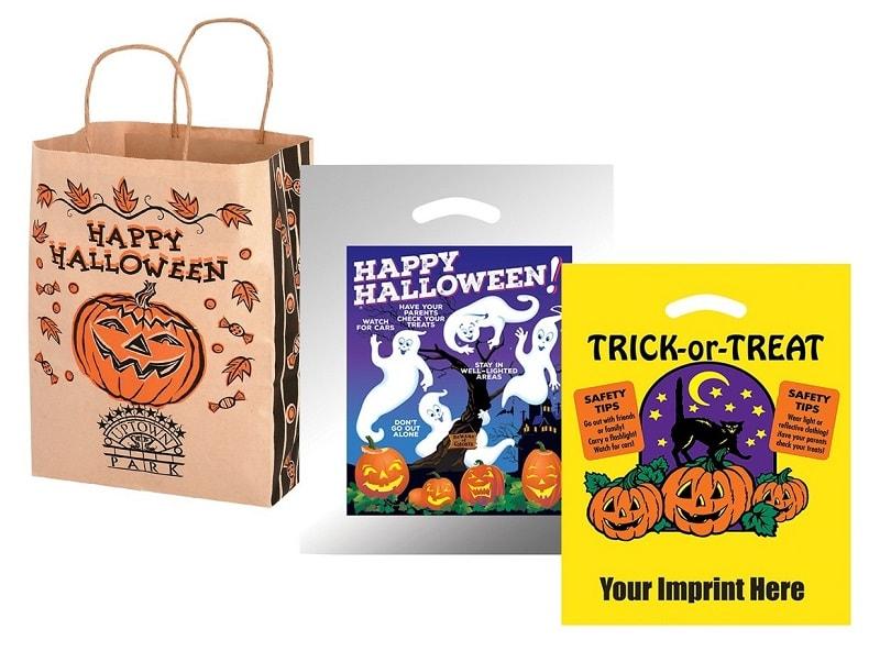 mẫu túi giấy cho ngày halloween