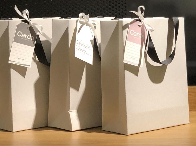 mẫu túi giấy đẹp trắng trơn không in thương hiệu