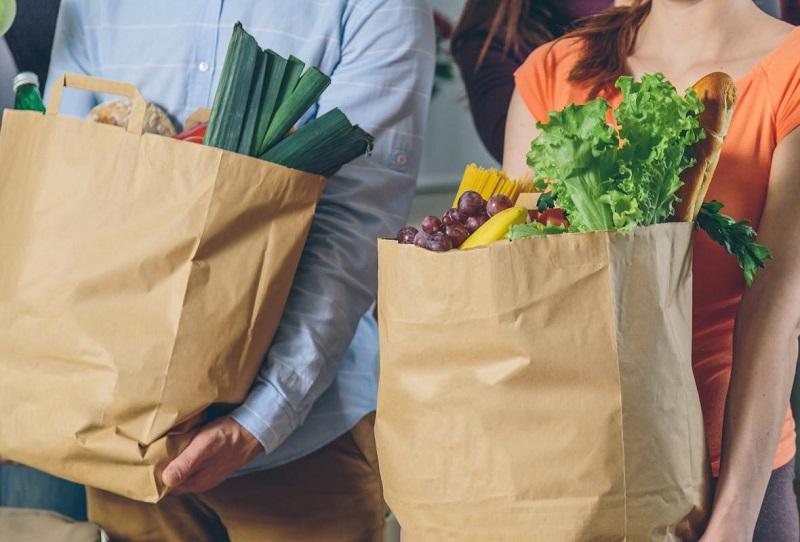 mẫu túi giấy kraft đựng thực phẩm