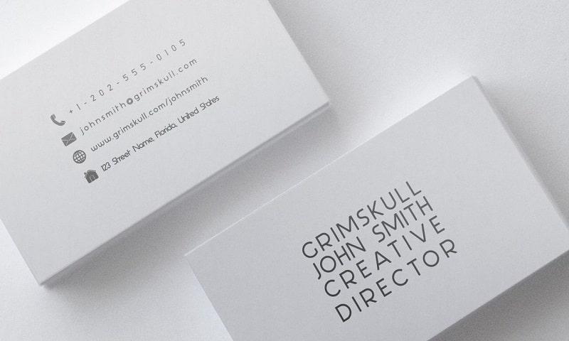 Mẹo thiết kế name card hiệu quả