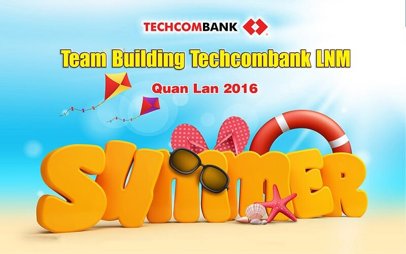 """Team building"" cũng cần backdrop"