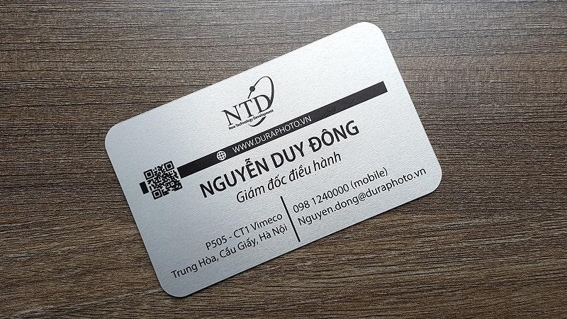 bristol Mẹo thiết kế name card hiệu quả
