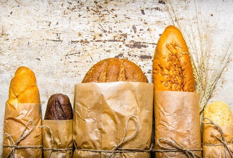 mẫu túi giấy đựng bánh mì các loại đa dạng